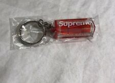 SUPREME LEVEL KEYCHAIN RED BRAND  NEW SEALED FW18/AUTHENTIC/FAST SHIPPING