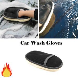 Auto Waschen Waschmaschine Tool Handschuh Nachgeahmte Wolle Werkzeug Polieren