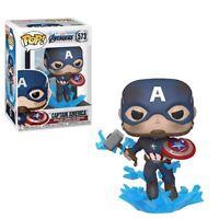 Marvel Avengers Endgame Captain America with Mjolnir Funko Pop Vinyl