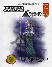 """Under the Blood Red Moon"" Castles & Crusades & Amazing Adventures RPG Day 2016"
