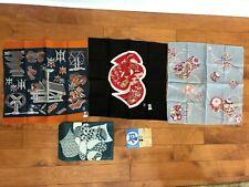 (3) vintage Keisuke Serizawa edozome collectible Japanese textile artwork rare