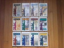 Georges Simenon Lot of 12 Maigret Pbs Killer, Revolver, Scruples, Spinster ++