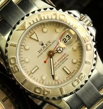 Rolex Ladies Yatchmaster Stainless Platinum