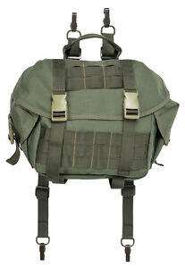 Military Technical Large Pouch with Pockets MOLLE in Olive color by Stich Profi