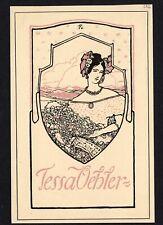 09)Nr.135- EXLIBRIS- Jugendstil / art nouveau, Hugo Steiner-Prag, 1906