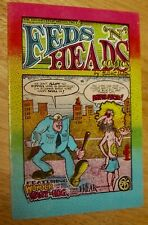 FEDS 'N' HEADS Comics by Gilbert Shelton classic vintage Underground rare 2nd pr