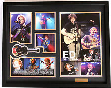 New Ed Sheeran Signed Limited Edition Memorabilia Framed