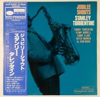 Stanley Turrentine Jubilee Shouts Blue Note GXF 3025 OBI JAPAN VINYL LP JAZZ