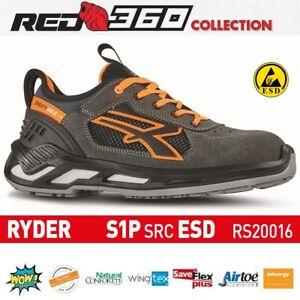 Scarpe da lavoro antinfortunistica RYDER S1P SRC ESD U-POWER Red 360 RS20016