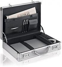 17 inch Laptop Briefcase Hard Aluminum Attache Men Women Executive Case Travel
