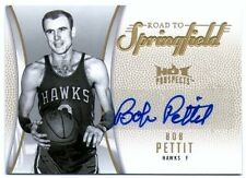 BOB PETIT 08 HOT PROSPECTS ROAD TO SPRINGFIELD AUTO AUTOGRAPH CARD #2/10!