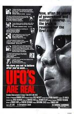 Ufos Are Real Movie Poster24in x 36in
