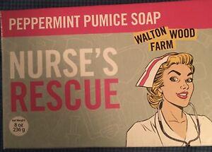Peppermint Pumice soap Nurses Rescue Walton Wood Farm