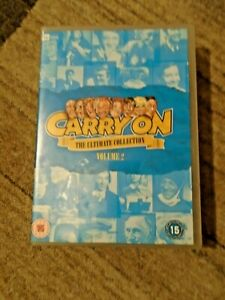 Carry On The Ultimate Collection Vol. 2 - 10-Disc DVD Box Set - Region 2 - VGC