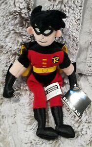 Robin Bean Bag Warner Bros Studio Store DC Comics Batman 1998 New with Tags