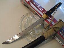 """Honshu Ninja Tanto Knife Short Sword 6mm Full Tang 1060CS UC3032 19 3/4"""" OA New"""