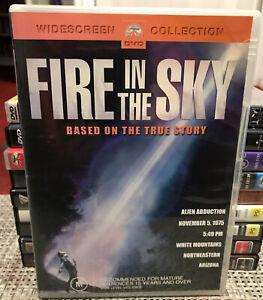 fire in the sky dvd region 4 ex-rental Rare!