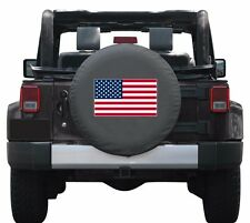 "32"" American Flag Tire Cover - Jeep Wrangler JK"