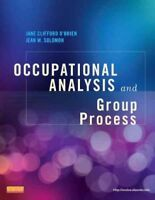 Occupational Analysis and Group Process, Paperback by O'brien, Jane Clifford,...