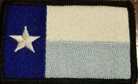 Texas State Flag Patch W/ VELCRO® Brand Fastener Tactical Morale Tex Emblem  #18
