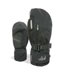 Level Mitten Winter Gloves Star W Mitt Black Thermal Warming