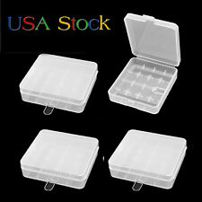 18650 Battery Storage Case/Box/Organizer/Holder for 4x18650 Batteries Pack of 4