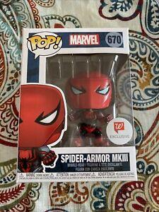 SPIDER ARMOR-MKIII Funko Pop Infinity Warps Marvel Walgreens Exclusive #670 A4
