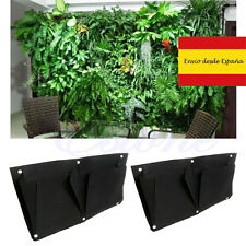 Garten wand 2 taschen horizontal vertikal