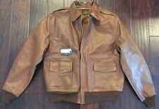 Eastman Leather Horsehide USAAF A-2 Flying Jacket 352nd Fighter Group SZ 48