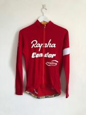 Red Rapha Long Sleeve Cycling Jerseys