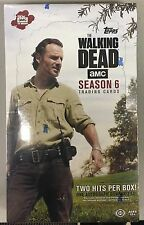 Topps WALKING DEAD SEASON 6 Trading Cards SEALED BOX 24 packs NEW Canada Seller