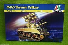 M4A3 SHERMAN CALLIOPE ITALERI 1/35 PLASTIC KIT