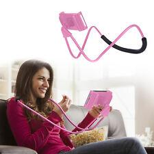 Universal Lazy Hanging Neck Phone Holder Mount Desktop Bed Car Selfie Bracket