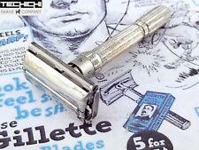 1965 K2 Gillette Slim Adjustable Vintage Double Edge Safety Razor