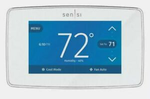 Emerson White-Rodgers 1F95U-42WF Sensi Touch Wi-Fi Smart Thermostat, Touchscreen