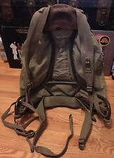 Vintage WWII US Army 10th Mountain Division Troops Canvas Rucksack Backpack.