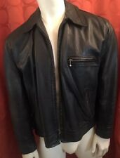 Medium Vintage 1985 Aero Leather Scotland Connolly Steerhide Highwayman Jacket