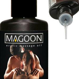 50ml JASMINE EROTIC MASSAGE OIL High Quality Lube Lubricant LONG LASTING Sex Aid