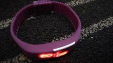 NEW SMART WATCH - FITBIT SPEC FOR GIRL LADYS  X1 GIFT IDEA - PURPLE