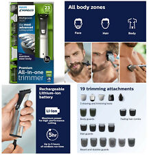 Philips Norelco Home Hair Cut Cord & Cordless Trimmer Clipper Men Grooming - NEW