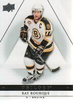 2013-14 Upper Deck Trilogy Hockey #10 Ray Bourque Boston Bruins