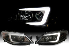 "STi ""C"" Light Bar LED D2S Xenon HID Projector Headlight For 08-11 Subaru Impreza"