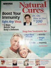 Natural Cures Newsmax Magazine special Report Oz  Immunity Diabetes Insomnia