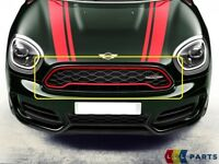 NEW GENUINE MINI COUNTRYMAN F60 JCW RED DECORATIVE FRONT BONNET GRILL HOOD