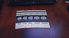 09/11/2009  DEREK JETER PASSES LOU GEHRIG IN HITS, NEW YORK YANKEE TICKET STUBS