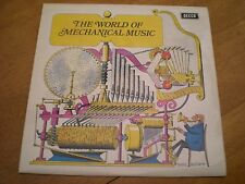 THE WORLD OF MECHANICAL MUSIC = DECCA SPA 145