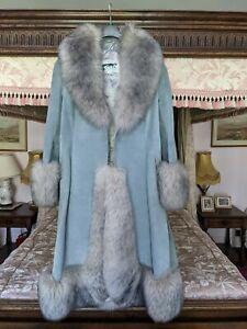 Vintage fox fur coat 1960s