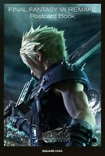 FINAL FANTASY VII REMAKE Post Card Book FREE EXPRESS DELIVERY