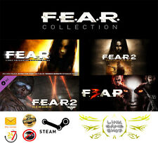 F.E.A.R Trilogy Collection 1+2+3 + DLC PC Digital STEAM KEY - Region Free