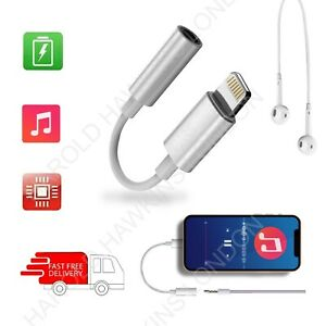 3.5mm AUX Adapter Cable Headphone Jack Audio Earphone For iPhone 12/13 11 XR 8 7